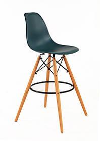 Полубарный стул Nik Eames, бирюзовый