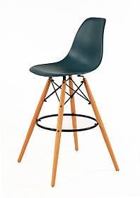 Барный стул Nik Eames, бирюзовый