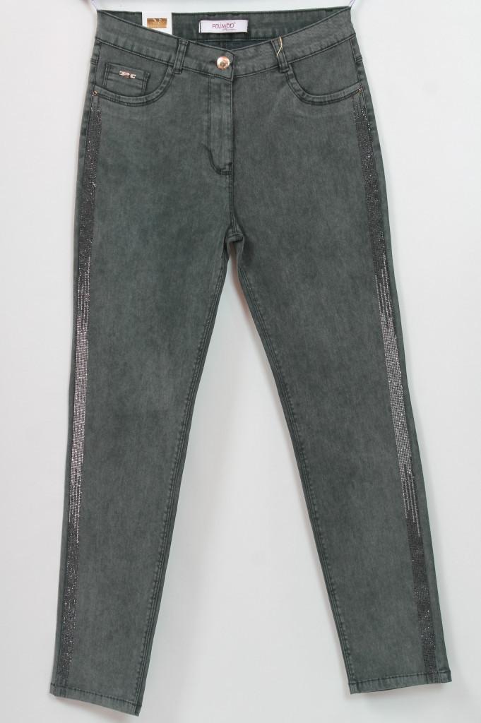 51ded588636 Турецкие джинсы с лампасами из страз - Интернет-магазин