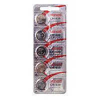 Батарейка Maxell CR1620 5 PK ( 5*1) CARD