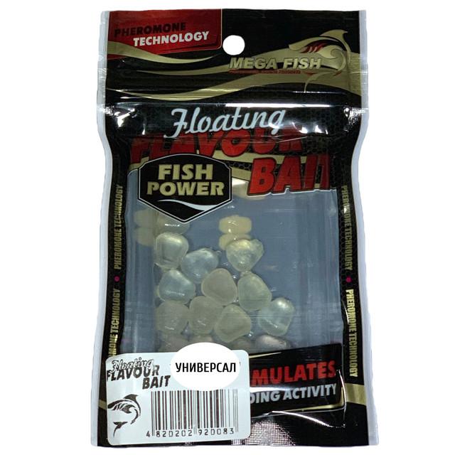 Приманки-наживки для рыбы MEGA FISH КУКУРУЗА №1 силиконовые, ароматизированные УНИВЕРСАЛ