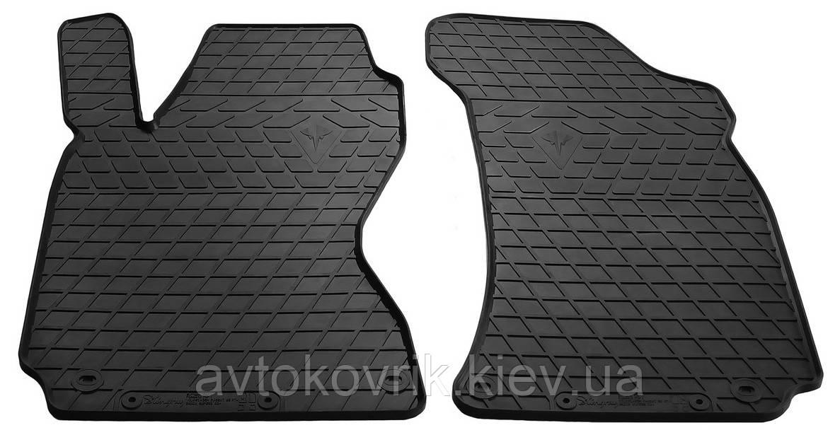 Резиновые передние коврики в салон Skoda Superb I (B5) 2002-2008 (STINGRAY)
