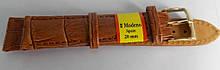 Ремінець шкіряний MODENO (ІСПАНІЯ) 20 мм, світло-коричневий