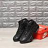 """Зимние кроссовки на меху Nike Air Max 95 Hi """"Черные"""", фото 2"""