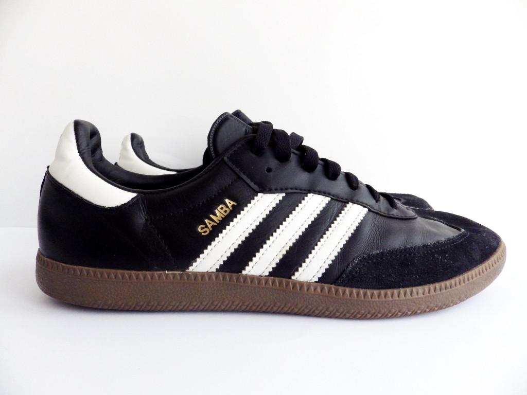 c1cfa479f Мужские кожаные кроссовки Adidas Samba 100% Оригинал р-р 44 (28 см) ...