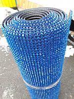 Щетинистое покрытие травка - синее