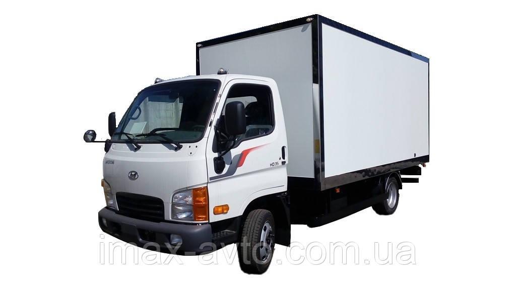 Автомобиль грузовой Hyundai HD35 промтоварный фургон