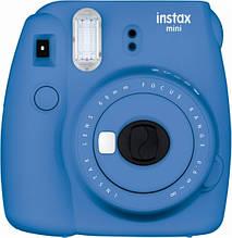 Камера Моментальной печати Fujifilm Instax Mini 9 Blue Cobalt Синий Кобальт / в магазине
