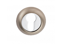 Накладка дверная под цилиндр E9a SN/CP