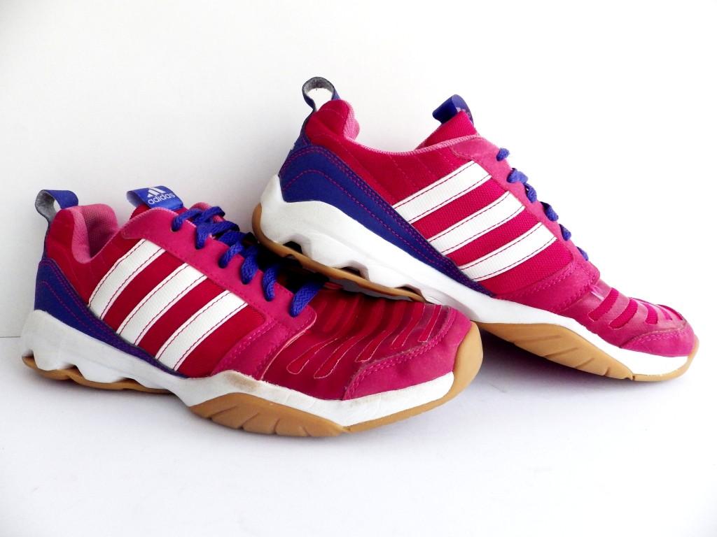 Женские волейбольные кроссовки Adidas Gymplus 3 K 100% Оригинал р-р 40 (25,5 см)  (б/у,сток) original адидас