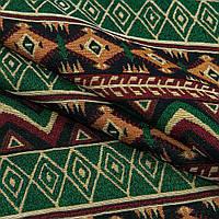 Гобелен орнамент- зеленый,бордо,черный,оранж
