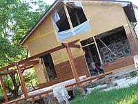 Строительство деревянных домов каркасного типа, а также из бруса
