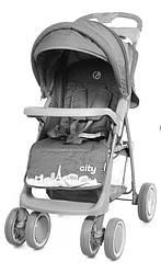 Коляска прогулочная Babycare City BC-5201 Grey в льне