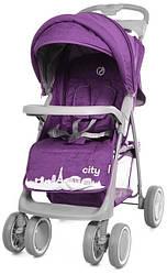 Коляска прогулочная Babycare City BC-5201 Purple в льне