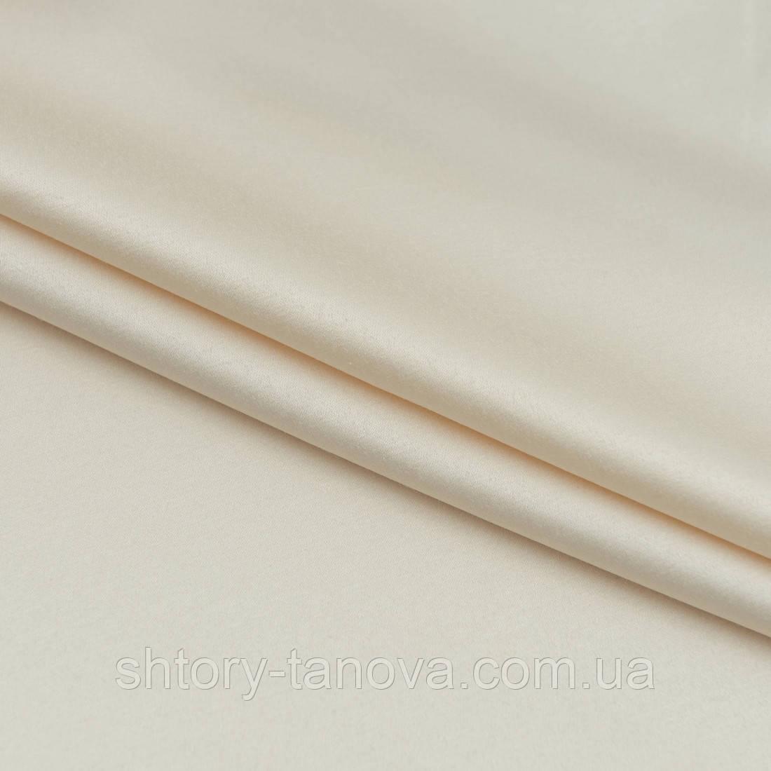 Декоративный сатин прада крем