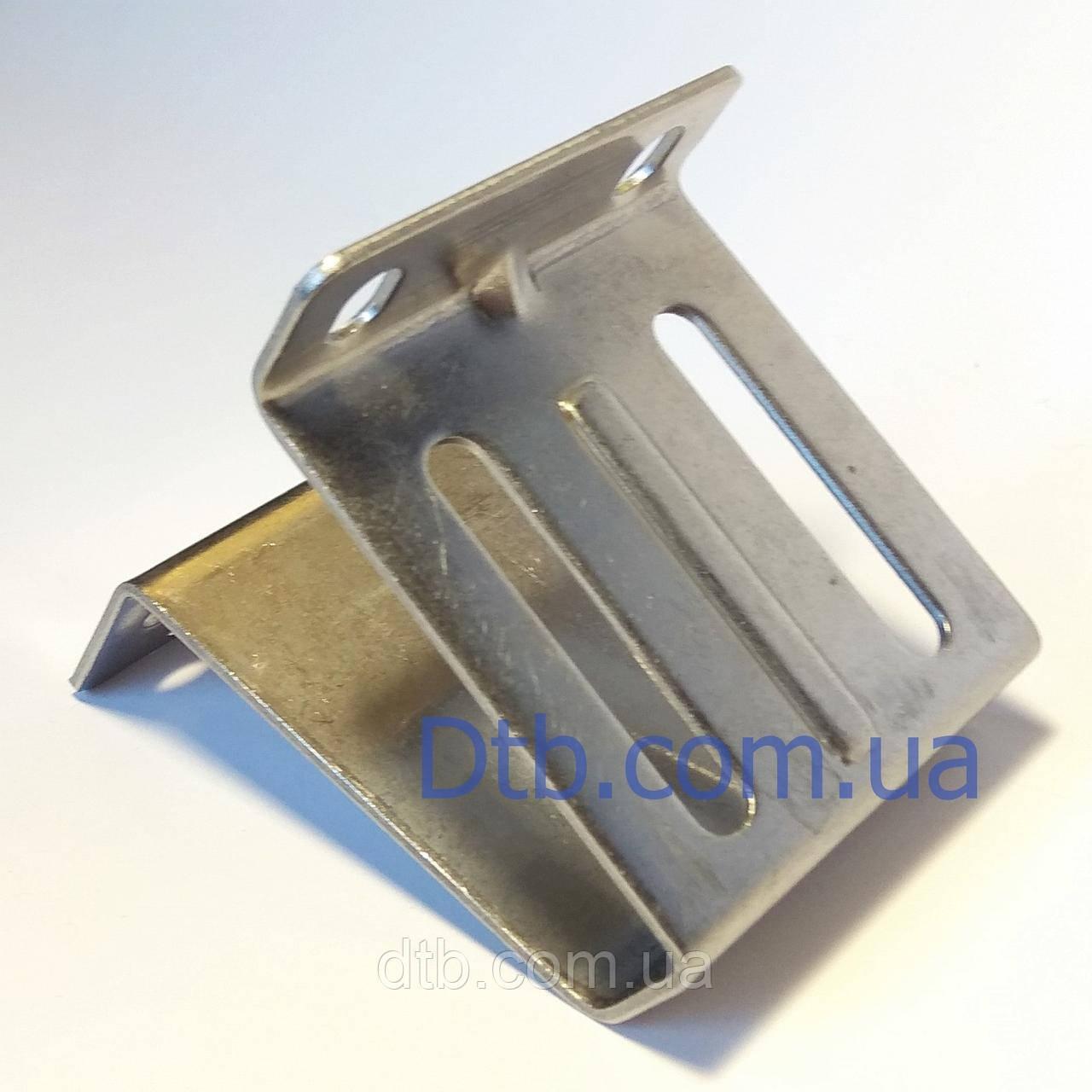 Кронштейн боковой для ролика ворот RBI123 Alutech нержавеющий