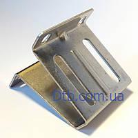 Кронштейн боковой для ролика ворот RBI123 Alutech нержавеющий, фото 1