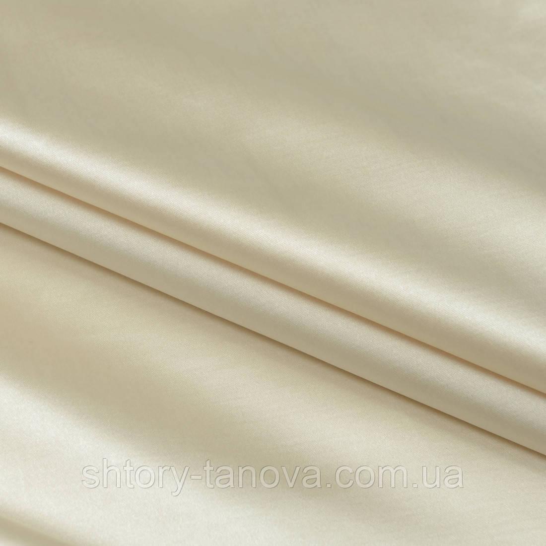 Декоративный сатин бравия крем