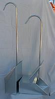 Совок металлический  откидной  (с  крышкой)