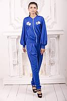 Бомбер Gold Style M (44-46) синий (Jane_393)