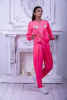 Бомбер Gold Style L (46-48) Розовый (Jane_395)