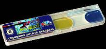 Акварель медовая Гамма-Н Мозаика 6 цветов