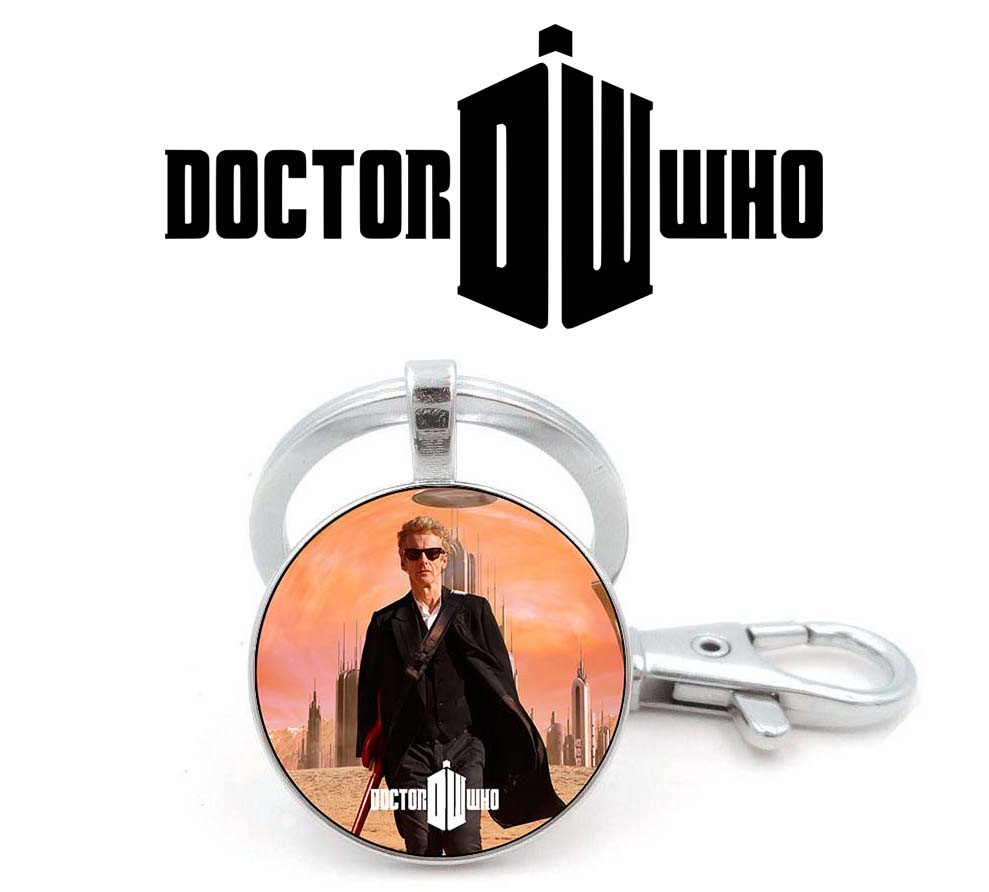 Брелок с Доктором из сериала Доктор Кто / Doctor Who