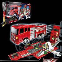 Трек A8501(12шт/2) Пожарная машина, в кор.