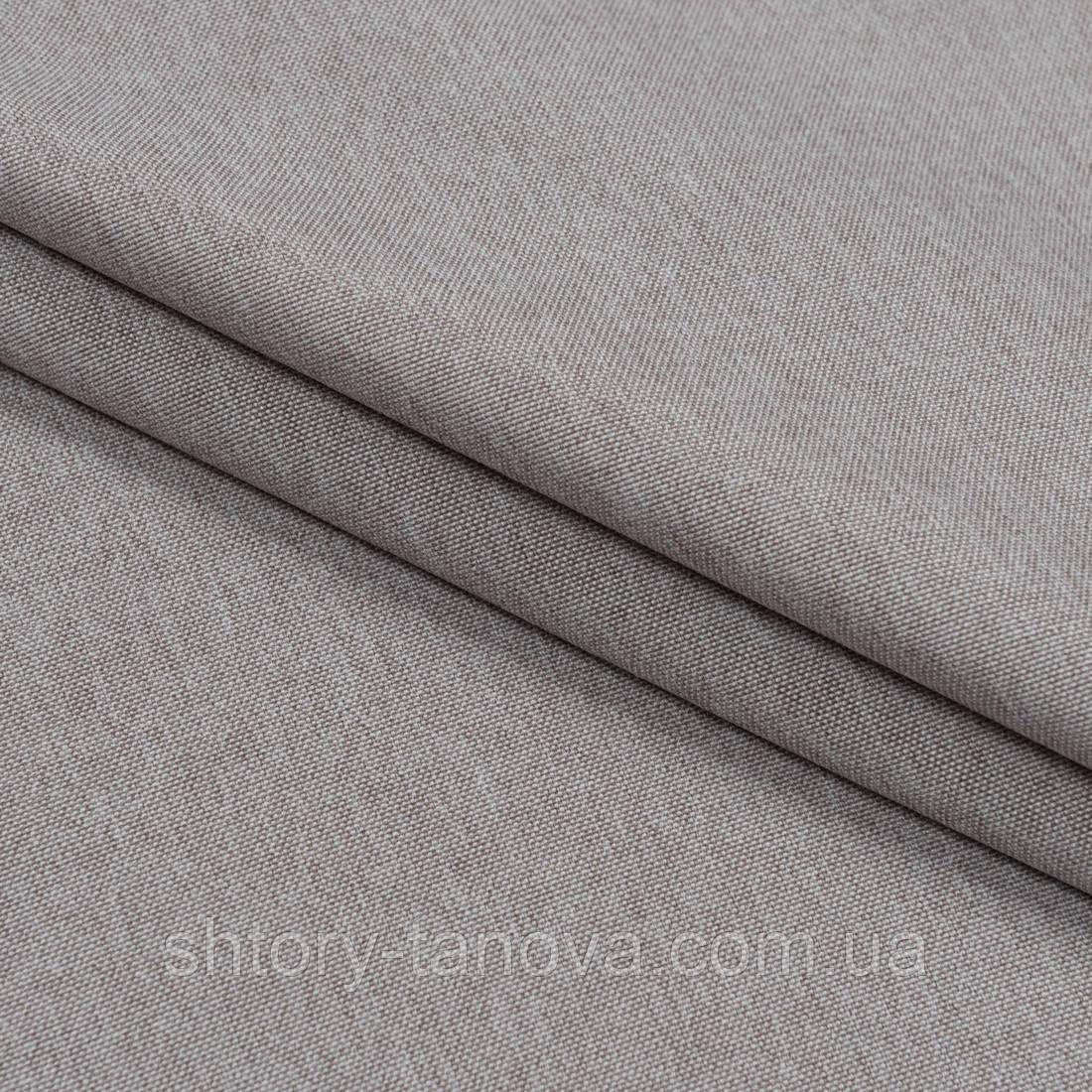 Декоративная ткань плотная рогожка  капучино