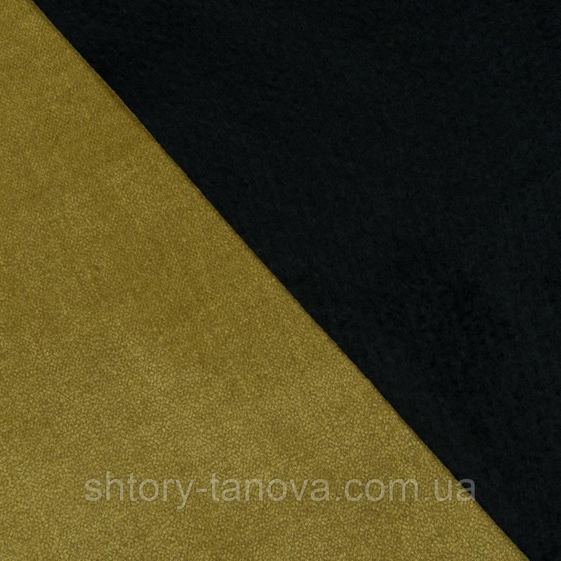 Декоративная ткань блийч дижонская горчица