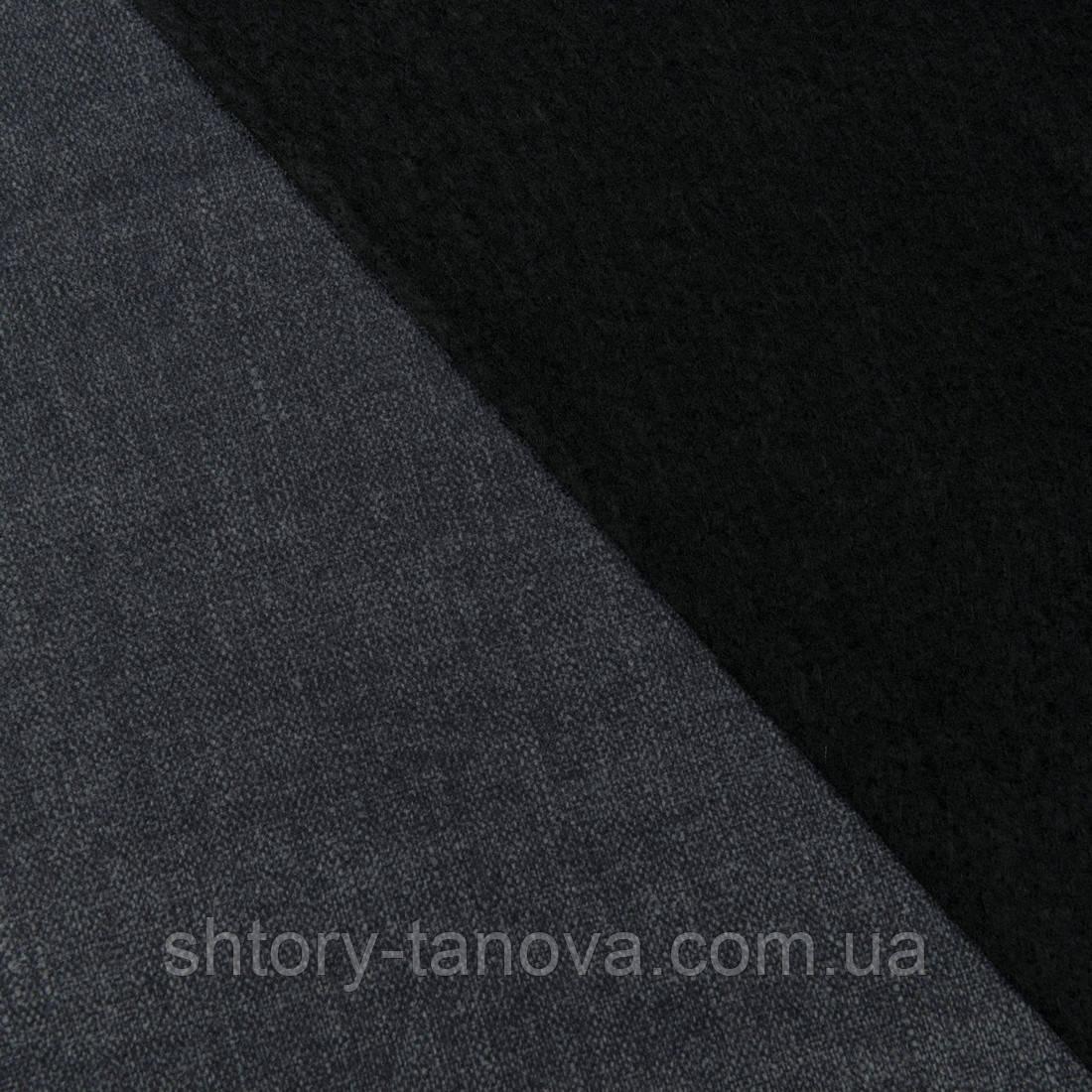 Декоративная ткань блийч графит