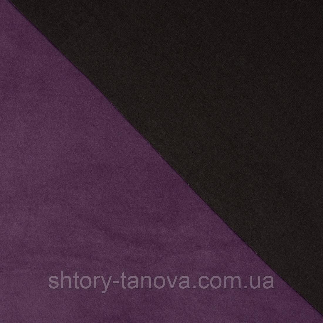 Декоративная ткань велюта фиолет