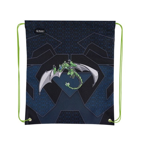 Сумка для обуви Herlitz Robo Dragon Green (50014590R)
