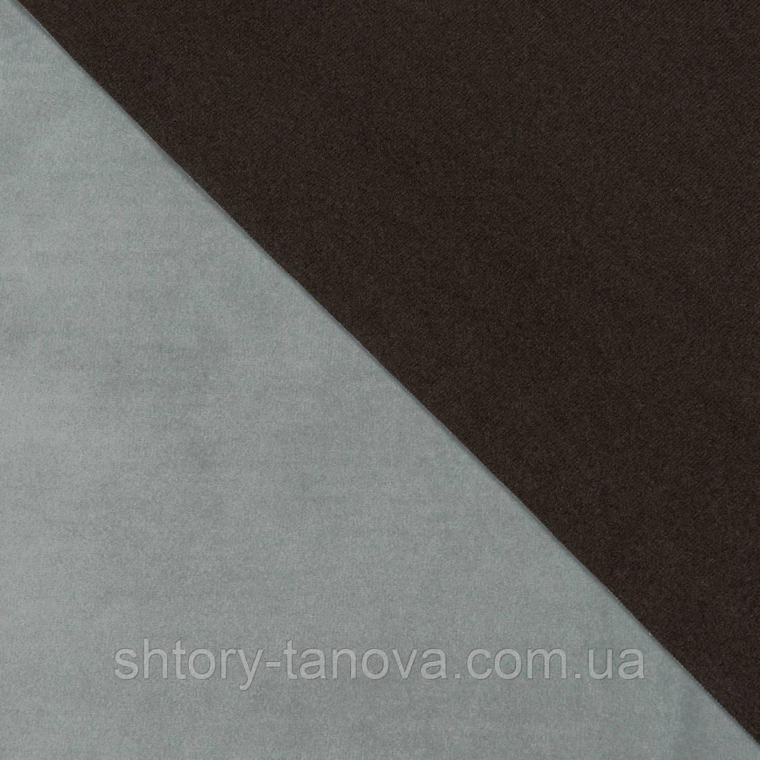 Декоративная ткань велюта св.серый