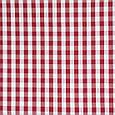 Ткань для декора клетка средняя, красная, фото 2