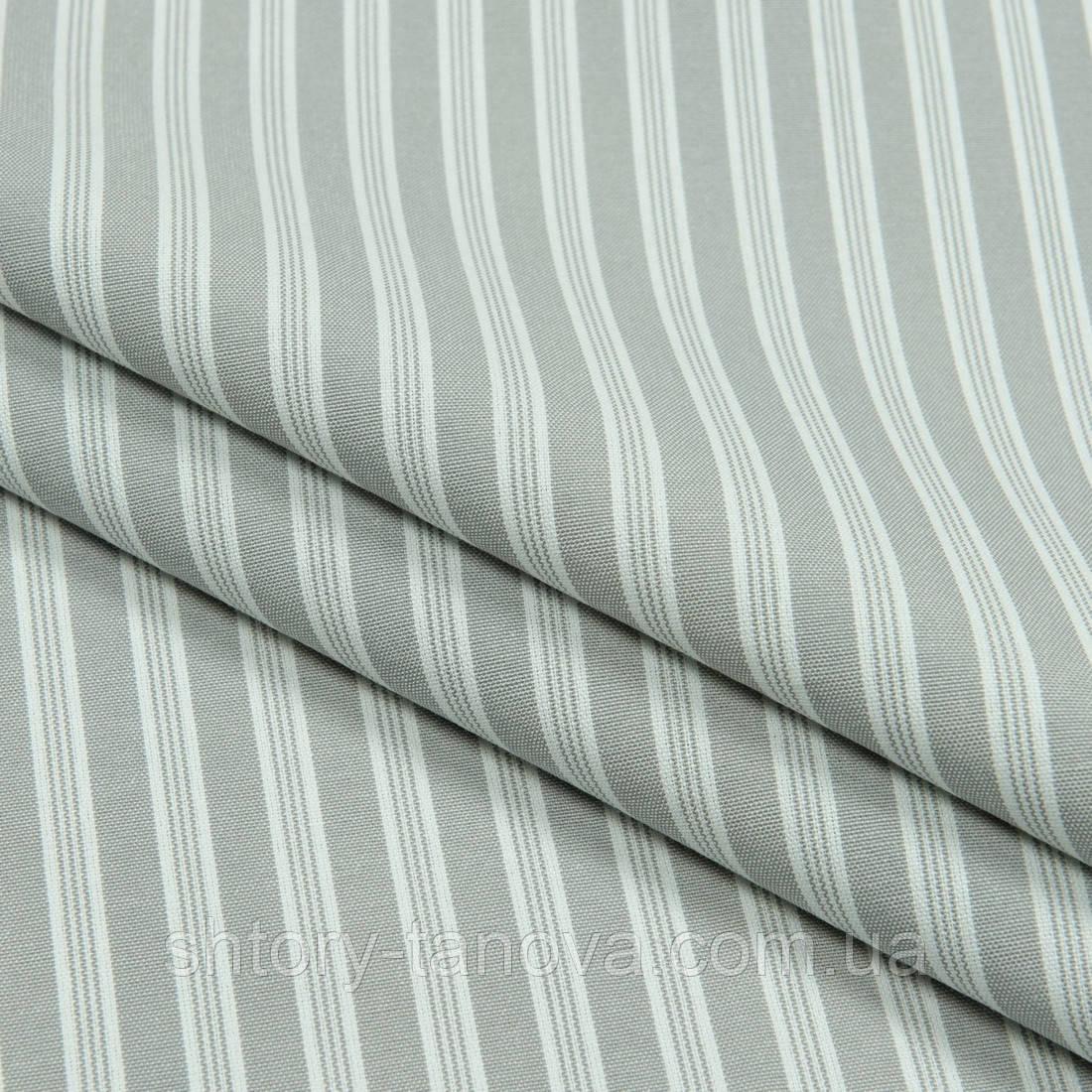Декоративна тканина рустик смуга,сірий