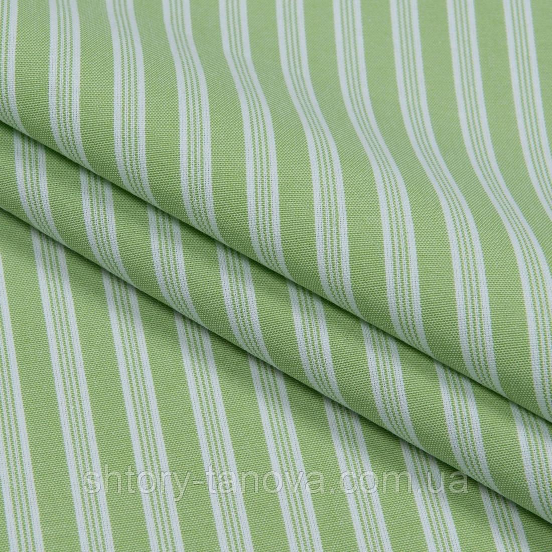Декоративна тканина рустик смуга зелене яблуко