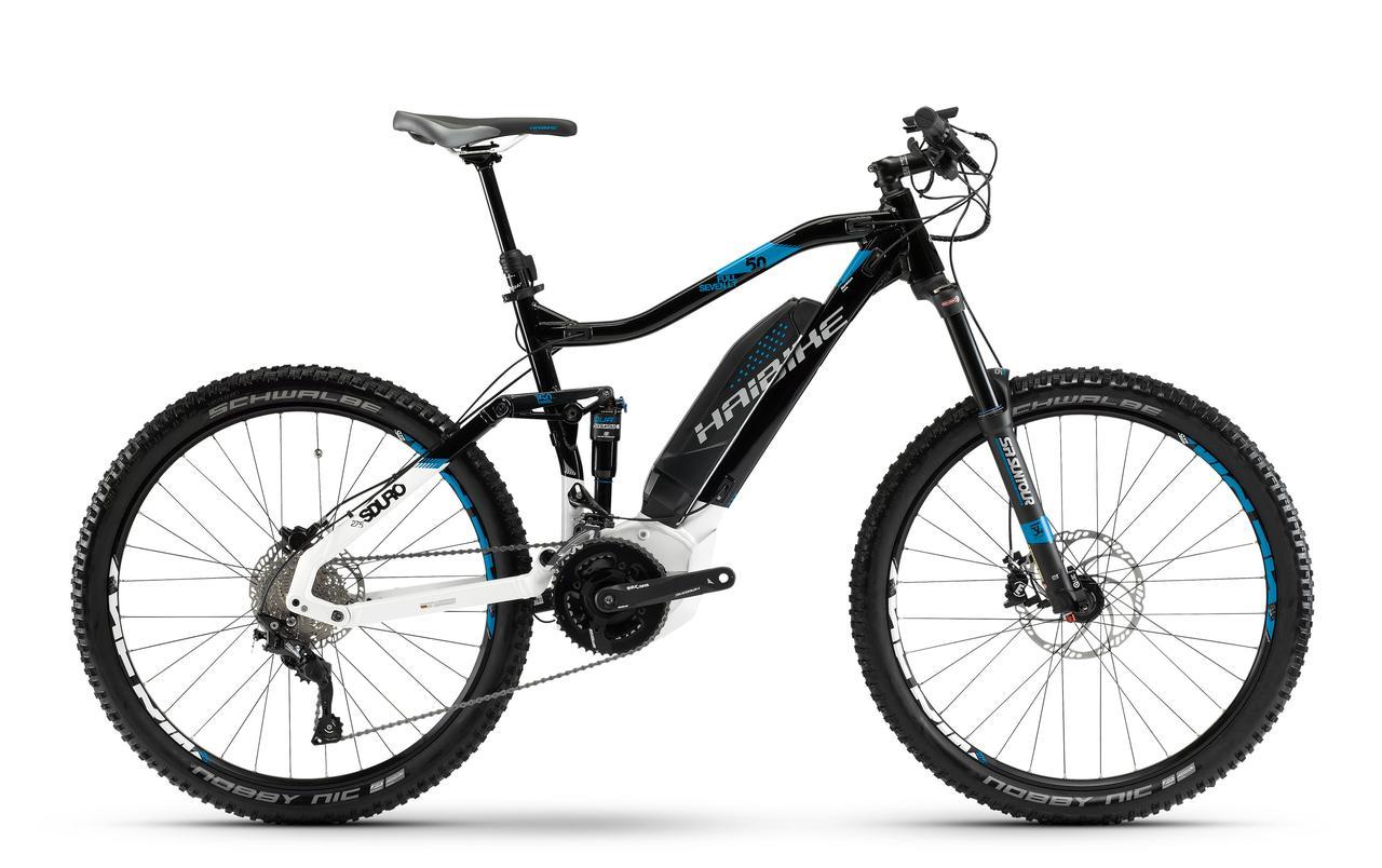 "Велосипед Haibike SDURO FullSeven LT 5.0 27,5"" 500Wh, рама 52 см, ход 150 мм, 2018"