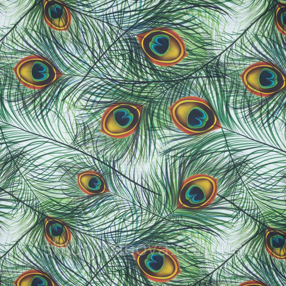 Декоративная ткань паресо/paraiso /перо жар-птицы