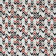 Декоративна тканина лонета лайф/life зигзаг коричнево-бурий.чорний,беж, фото 2
