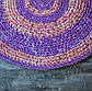 Коврик на пол Vividzone фиолетовый, фото 2