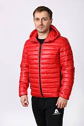 Куртка Athletics стеганая (красная)