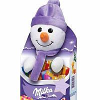 Мягкая игрушка снеговик от Milka, фото 1