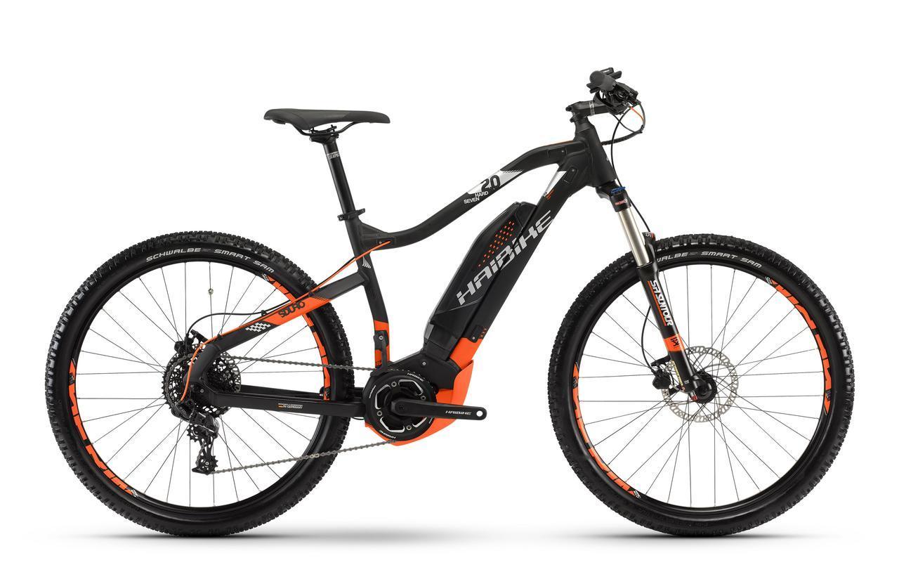 """Велосипед Haibike SDURO HardSeven 2.0 27,5"""" 400Wh, рама 55 см, 2018"""