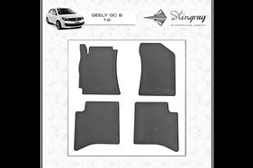 Резиновые коврики (4 шт, Stingray Premium) - Geely GC-6