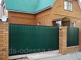 Откатные ворота на консольной системе (2600-3000)