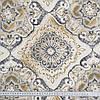 Декоративная ткань панама клейд/ clady серый,оливка  - Фото