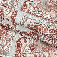 Декоративная ткань панама клейд/ clady терракот