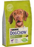 АКЦИЯ! Сухой корм для собак Dog Chow Adult Lamb с ягненком 14+2,5кг , фото 1