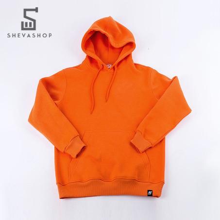 Теплое мужское худи Punch Rocky оранжевая